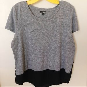 Express Two Tone T-Shirt Size Large